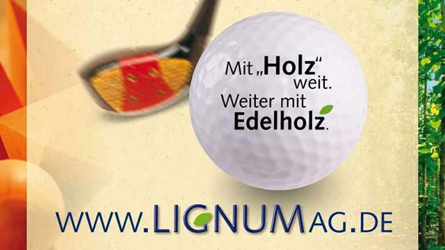 LIGNUM Golfplatz-Ad