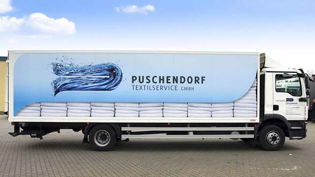 Puschendorf LKW-Beschriftung