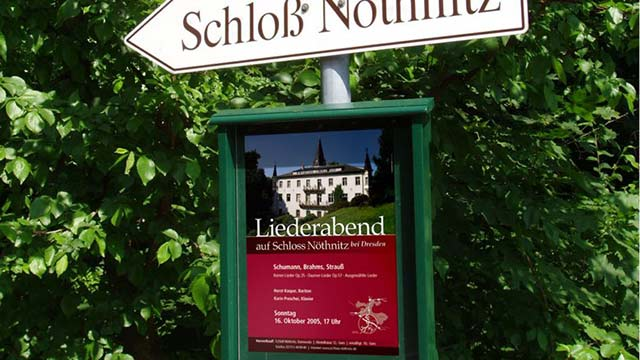 Schloss Nöthnitz Werbemedien
