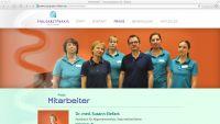 Website Hausarztpraxis Dr. Elefant