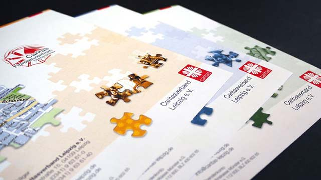 Caritasverband Leipzig Corporate FlyerDesign