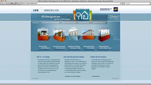 LWB Immobilien neuer Web-Auftritt