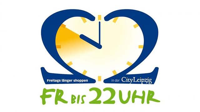 """City Leipzig Logoentwicklung """"22 Uhr Shoppen"""""""