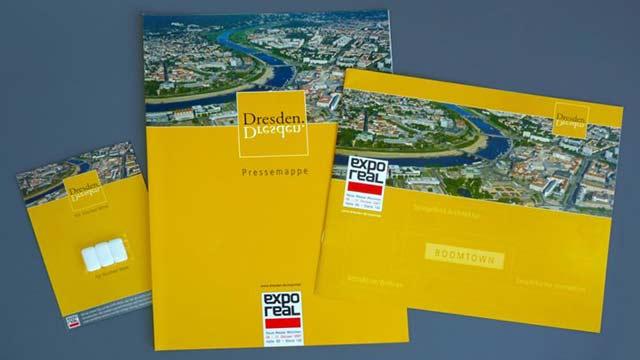 Dresden auf der Expo Real 2007 - Pressearbeit