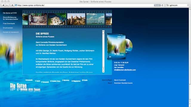 Spreesinfonie Website