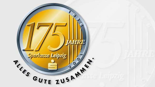 175 Jahre Sparkasse Leipzig Jubiläumslogo