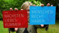 Postkarten gegen Fremden-Angst
