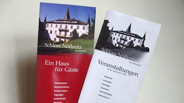 Schloss Nöthnitz Flyer