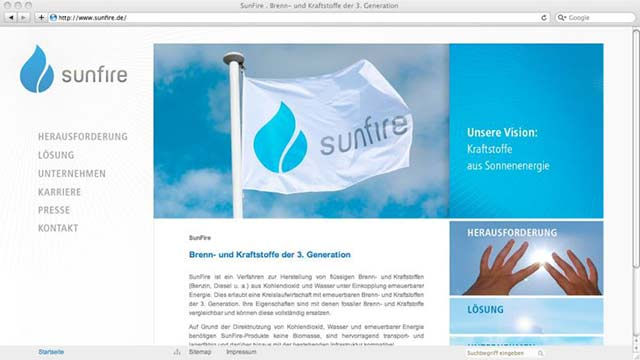 SunFire Website