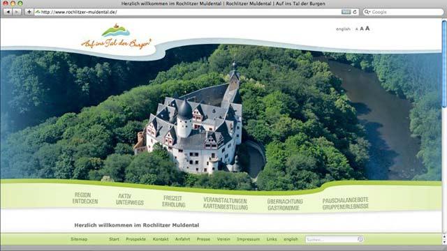 Tal der Burgen Website