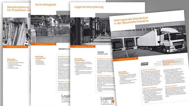 Logistikplan Projektblätter
