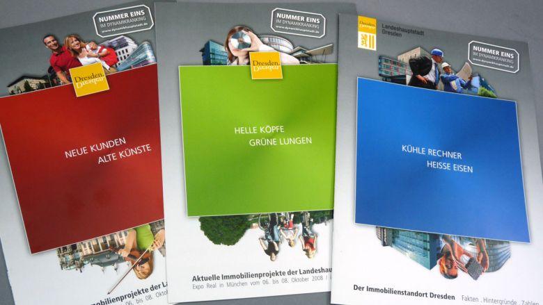 Dresden auf der Expo Real 2008 - Publikationen