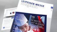 Erstausgabe des Leipziger Messe Magazins