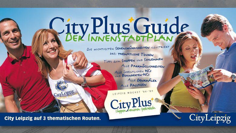 """City Leipzig """"CityPlusGuide"""""""