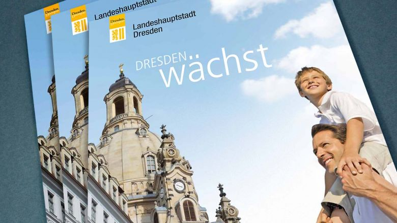 Dresden auf der Expo Real 2011 - Immobilienbroschüre