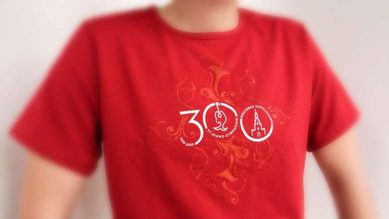 St. Benno-Gymnasium - Jubiläumswerbung 300 Jahre