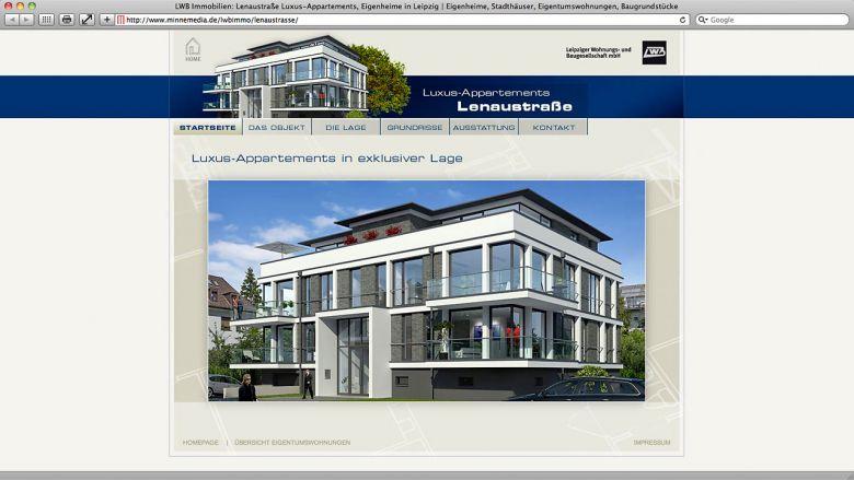 LWB Website Lenaustraße