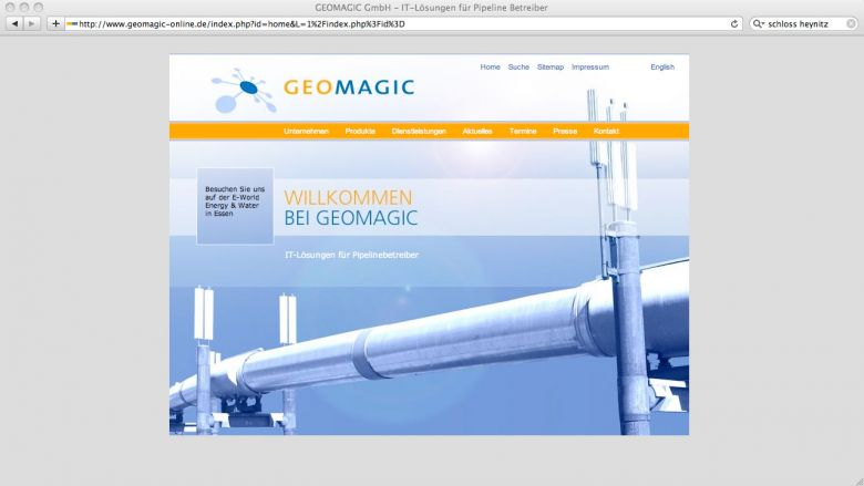 GeoMagic Website