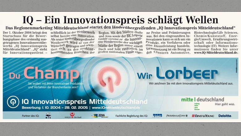 IQ Innovationspreis Mitteldeutschland Print-Tools