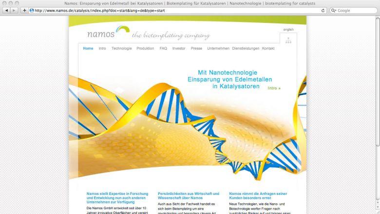 Namos Website