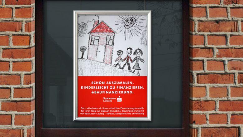 """Sparkasse Leipzig Kampagne """"Baufinanzierung"""""""