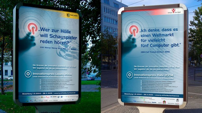 IQ Innovationspreis Mitteldeutschland Imagekampagne