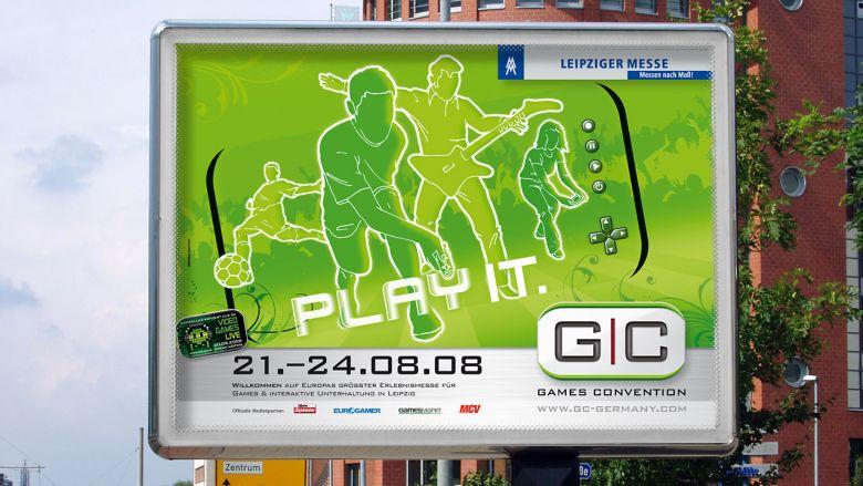 Games Convention 2008 Großflächen