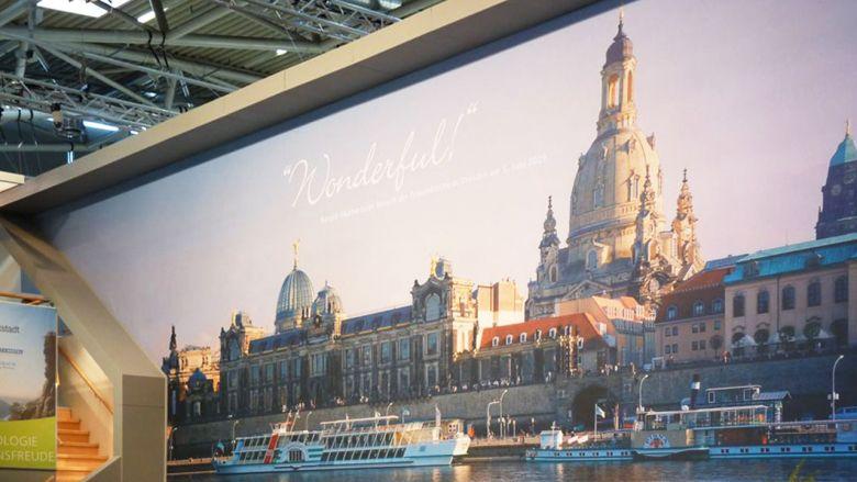 Dresden auf der Expo Real - Messestand & Aktionen