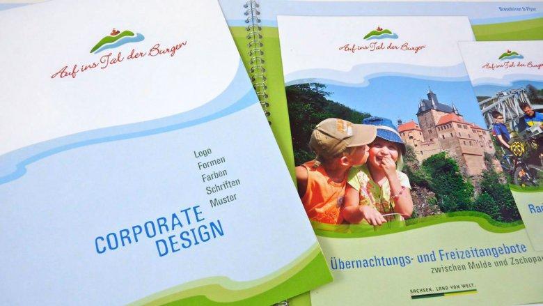 """Das """"Tal der Burgen"""" mit neuem Corporate Design"""