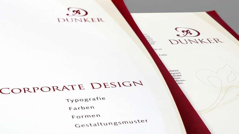 Bestattungen Dunker Corporate Design