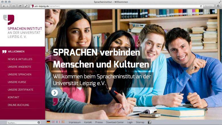 Neue WebSite des Spracheninstituts