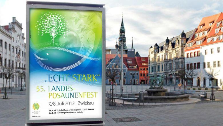 Poster zum Landesposaunenfest