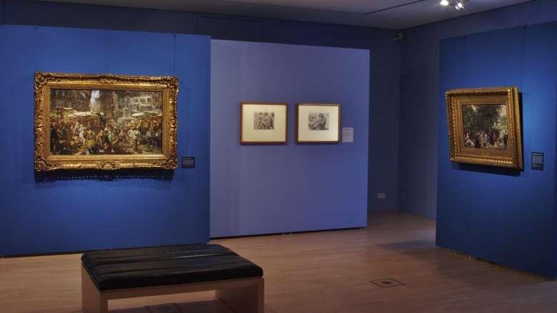 """Kunstausstellung """"Adolph Menzel in Dresden"""""""