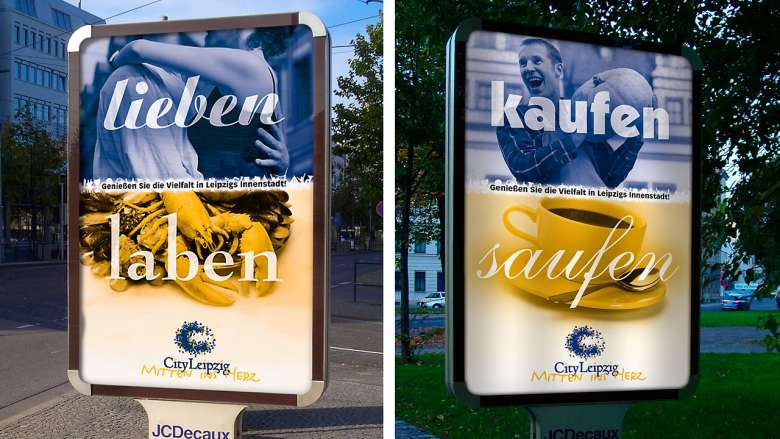 "City Leipzig Kampagne ""Vielfalt"""