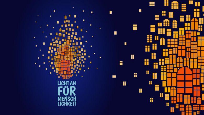 Licht an für Menschlichkeit