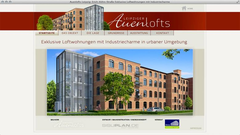WebSite Auenlofts