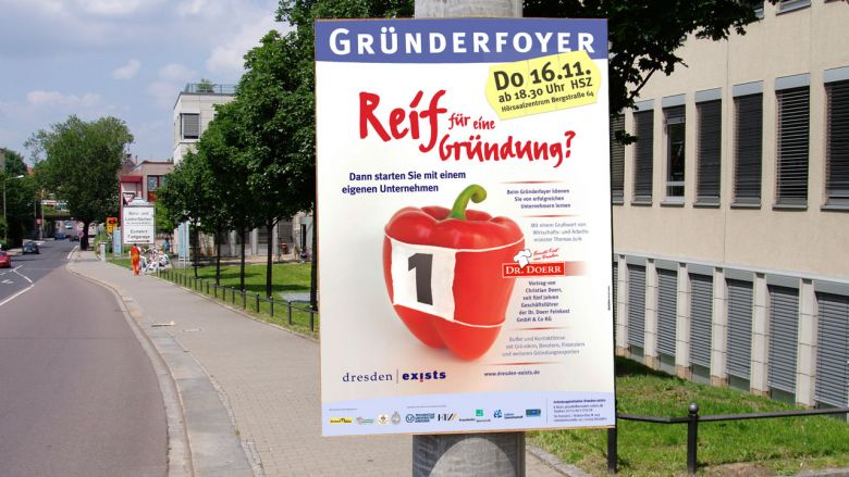 Dresden exists Informationskampagne