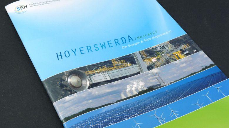 Stadtentwicklungs-Gesellschaft Hoyerswerda Broschüre