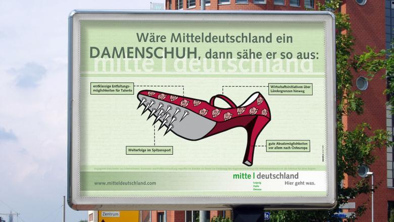 """Regionenmarketing Standortkampagne """"Mitteldeutschland"""""""