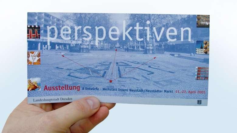 Stadtplanungsamt Dresden - Ausstellung Neustädter Markt