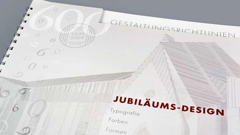 600 Jahre Uni Leipzig Jubiläums-Design