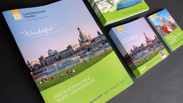 Dresden auf der Expo Real 2009 - Publikationen & Werbung