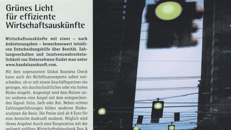 Handelsauskunft.com Pressearbeit