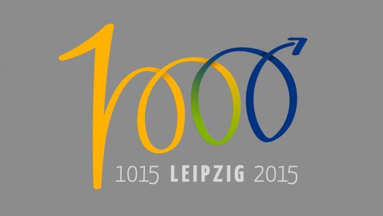 Logo zum 1.000-jährigen Stadtjubiläum
