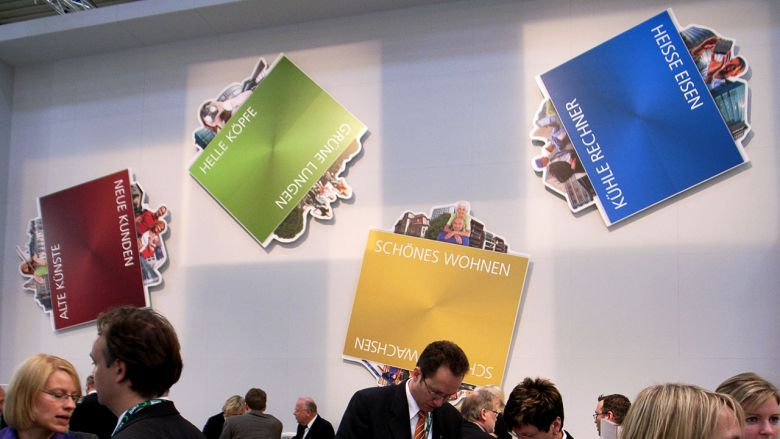 Dresden auf der Expo Real 2008 - Messestand & Events