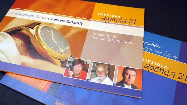 Leipziger Agenda21 Flyer