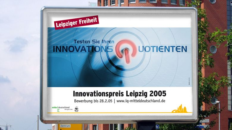IQ Innovationspreis Mitteldeutschland - Key Visual