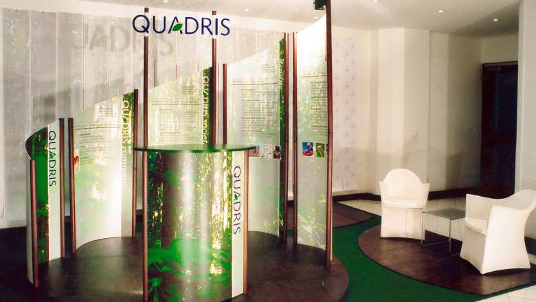 Quadris Messestand