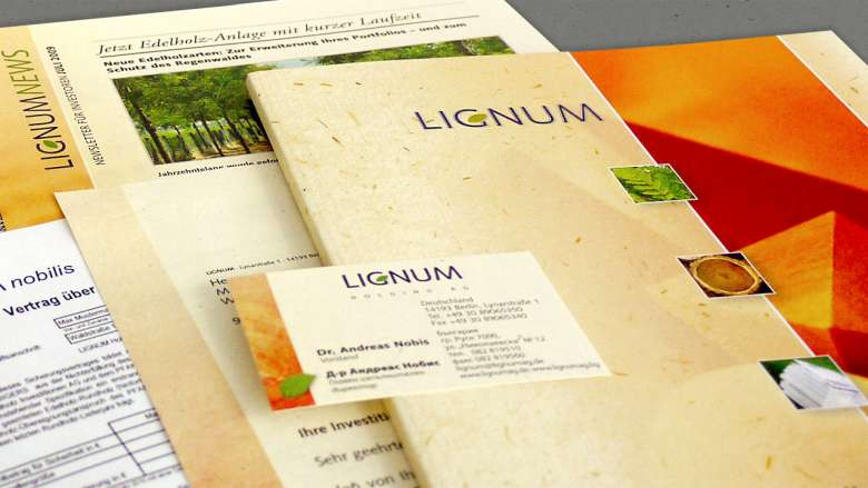 LIGNUM Corporate Design