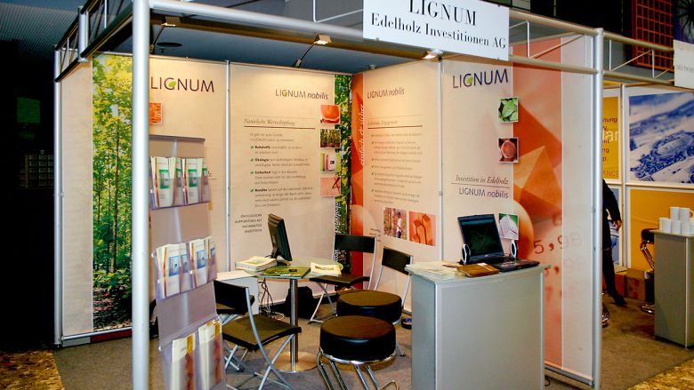 LIGNUM Messestand 2006